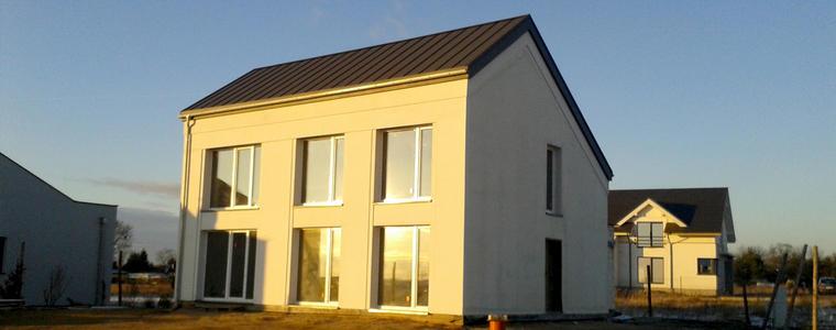 SPECTERM Dach w budynku pasywnym – Tarnowo Podgórne